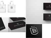 Portfolio boutiquette logo print copy