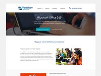 Pradigm website service