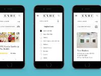 Exhi mobile screens 02