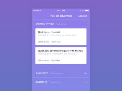 Ar Adventures – Listing