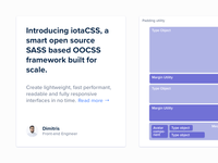 iotaCSS — Medium.com visuals 2/3