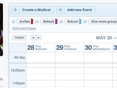 thetudu calendar's header tags header calendar buttons