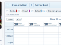thetudu calendar's header