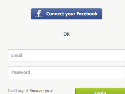 Facebook login button facebook button blue login connect f or form email password register easybring