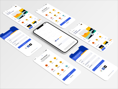 Book Shop Mobile UI design app ux ui adobe xd