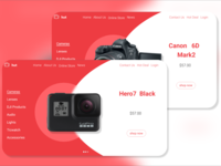 Camera-landing-page-daily-UI-challenge