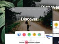 Travel-landing-page-web