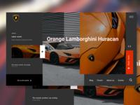 Lamborghini-landing-page-web-ui