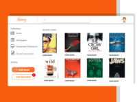 library-landing-page-web-ui
