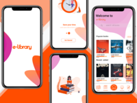 e-library-mobile-UI