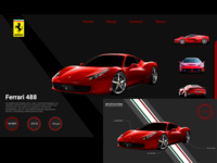 Ferrari-landing-page-web