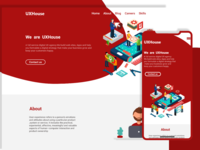 UXHouse-web-landing-page