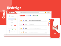 💌 Up challenge:Gmail Redesign!