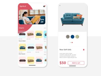 E commerce Mobile UI