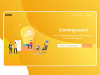 Coming Soon Landing page