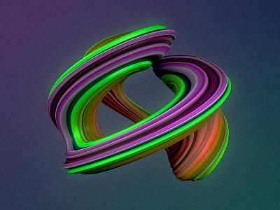 Random Shape displacer colorful design deformation shape vector design illustration cinema4d aftereffects 3d