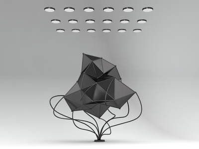 Sci-Fi Tree abstract design science sci-fi design illustration aftereffects cinema4d 3d