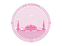 Saint Petersburg badge II
