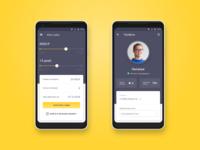 Mobile app for microfinance company