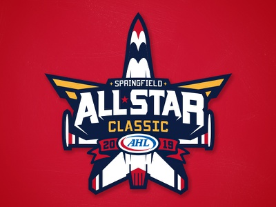 2019 AHL All-Star Logo Exploration nhl illustration matt mcelroy logo sports branding ahl hockey