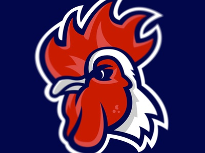 Rooster rooster france sports logo