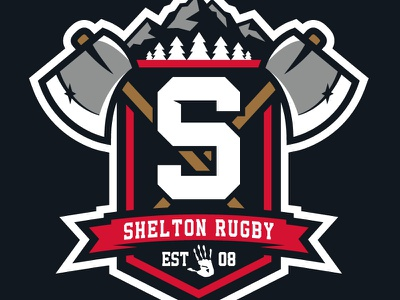 Shelton Rugby Club shelton washington rugby lumberjacks sports logos matt mcelroy