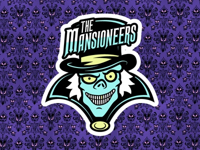 The Mansioneers hat box ghost magic kingdom disney world social club the haunted mansion disney disneyland