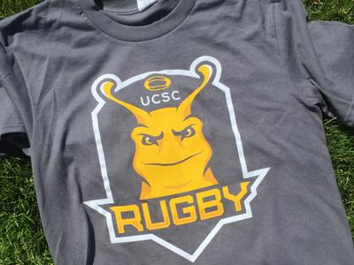 Slugby Shirt santa cruz university of california apparel sports slugs rugby ucsc