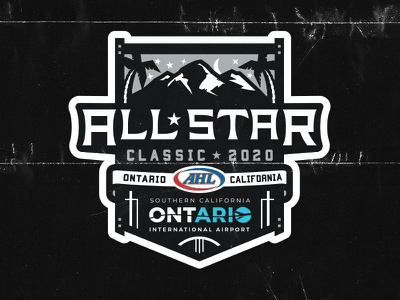 2020 AHL All-Star Logo all-star allstar all star game sports branding sports design illustration matt mcelroy sports logos logo ahl hockey