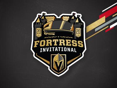 The Fortress Invitational college providence cornell ohio state ncaa illustration branding sports logos matt mcelroy logo sports nhl hockey