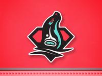 Seattle Sea Lions nhlseattle nhlseattle sea lions seattle illustration sports logos branding matt mcelroy logo sports nhl hockey