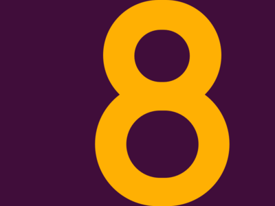 8 challenge typehue typography 8