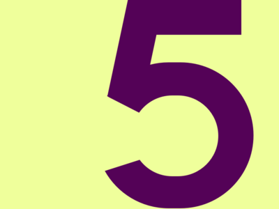 5 typography typehue typeface number challenge 5
