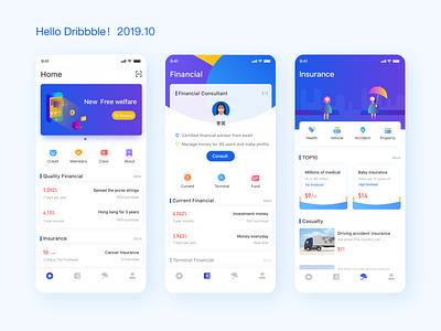 Pocket cat app financial app icon appdesign illustration ui designs