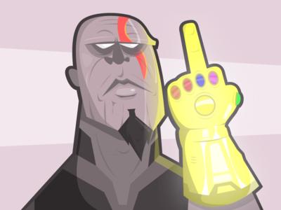 Thanos x kratos