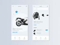 Motibike mobile shop design