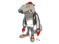 Toon Werewolf