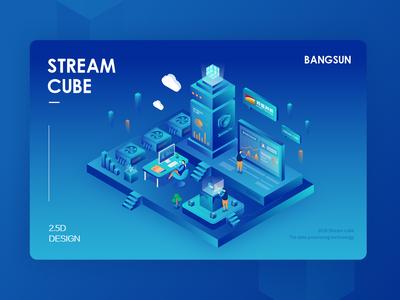 2018 Stream cube