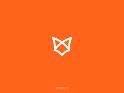 bold minimalist fox
