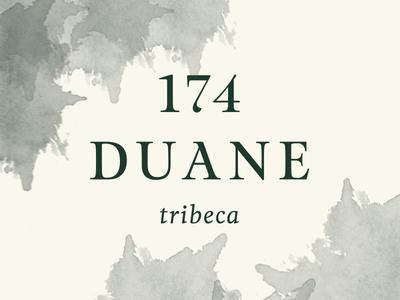 174duane 1 real estate tribeca logo