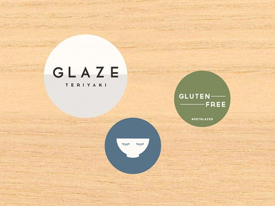 Glaze gluten-free packaging restaurant