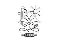 Pákozd International Kite Festival logo
