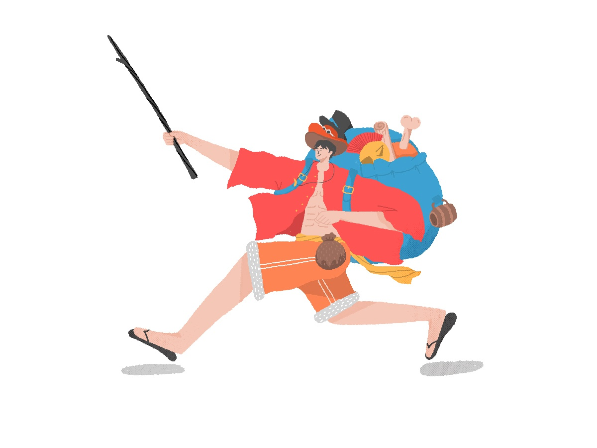 Monkey D Luffy By 徐超尘 On Dribbble