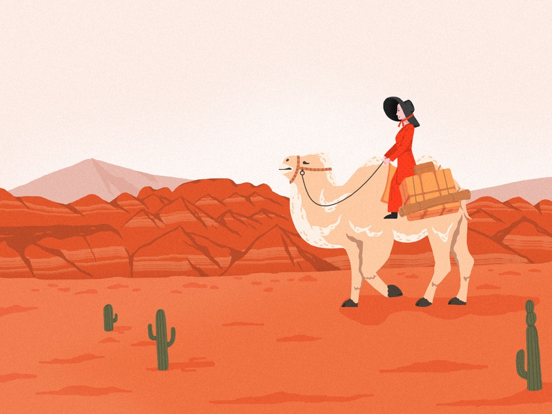 The Sun Also Rises-camel