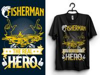 Fisherman Tshirt Design
