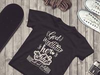 Typography Tshirt Design