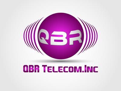 Qbr Logo for telecom company