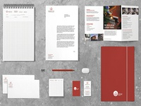 Creation of the brand identity of a metallurgical company