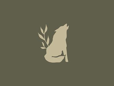 Wolf Logo wolf drawing branding handdrawn illustration