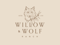 Wolf and Willow Logo